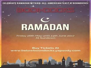 Ramadan @ Below Boondocks! Event tickets - BelowBoondocks