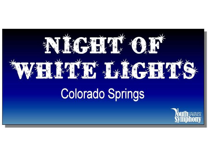 Night of White Lights 2020!