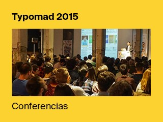 Conferencias Typomad 2015 Event tickets - Typomad 2015