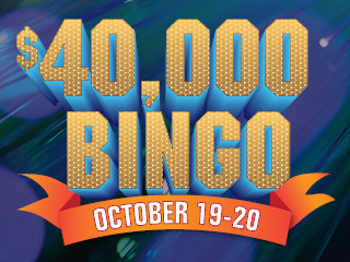 $40,000 Bingo - Paper Only Special 2019
