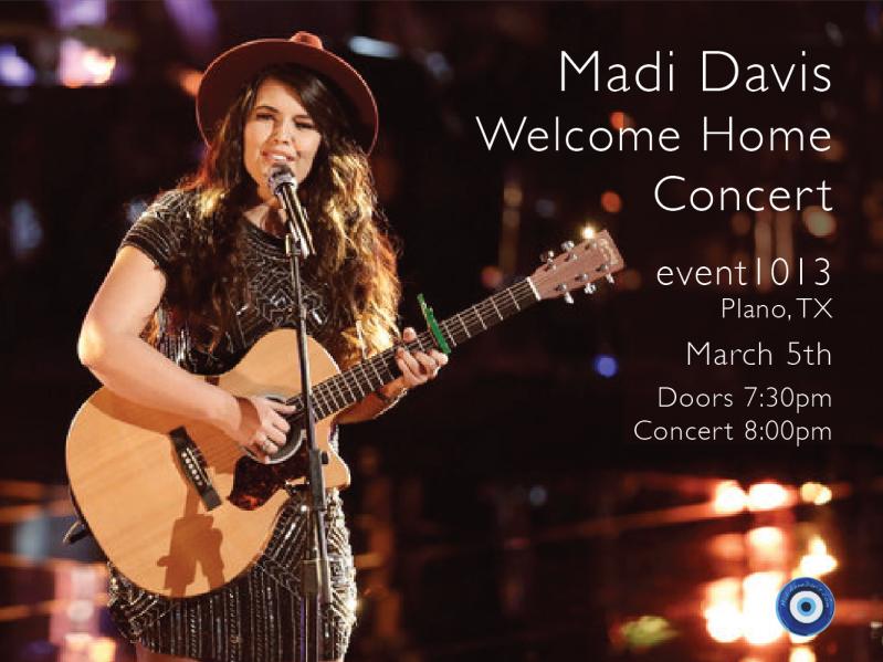 Madi Davis Live Event tickets - Madi Davis Music