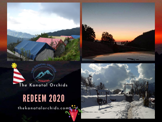 Is Teharu Open On Christmas Eve 2021 New Year Eve 2021 Redeem 2020 Tickets The Kanatal Orchids Tehri Range Uttarakhand