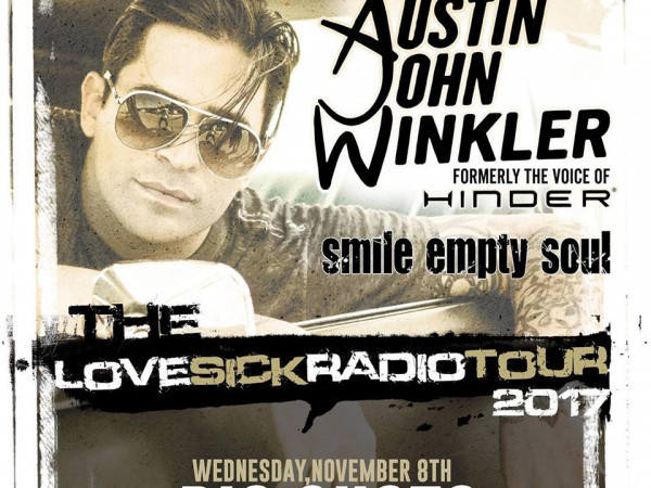 OUTDrejas w/ Austin John Winkler(Hinder) Event tickets - OUTDrejas