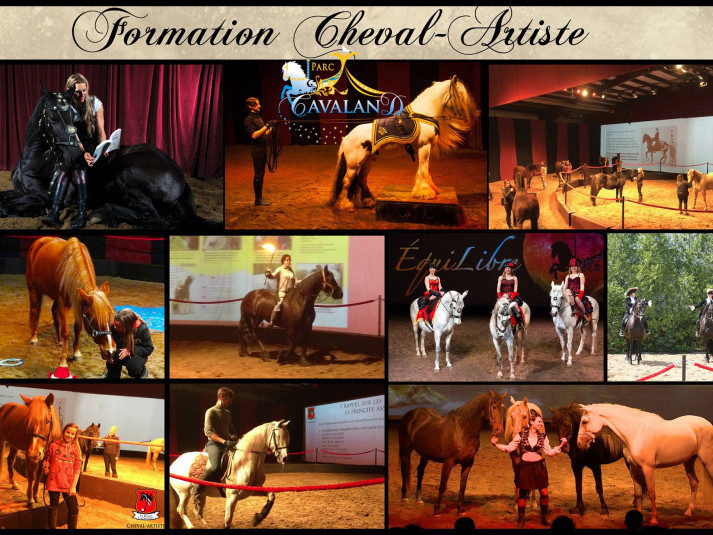 Formation chevaux-artistes  tickets - Parc Cavaland