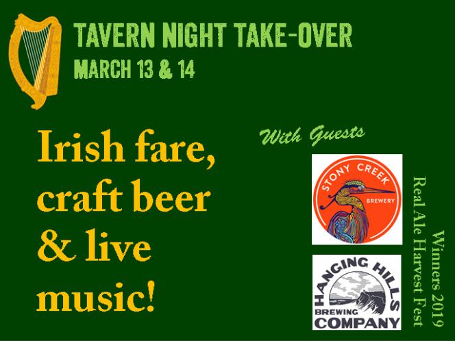 Tavern Night: A Taste of Ireland
