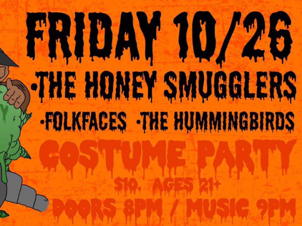 HONEY SMUGGLERS HALLOWEEN PARTY Event tickets - Flour City Station