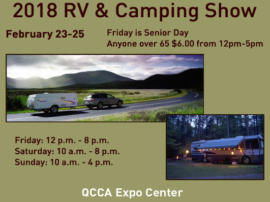 RV and Camping Show - 2018 Event tickets - QCCA Expo Center