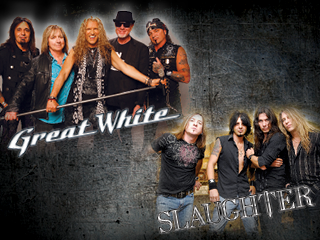 Great White & Slaughter Event tickets - Bear River Casino Resort