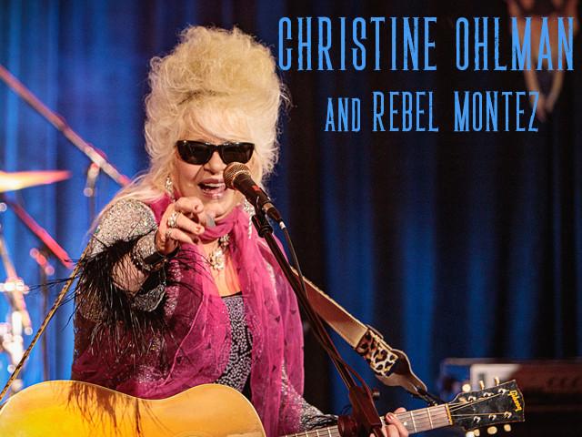 Christine Ohlman and Rebel Montez