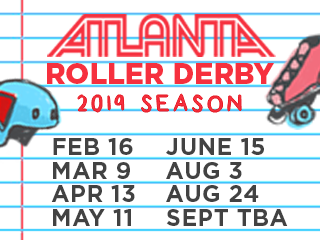 ATL Roller Derby '19 Champs Family4Pack
