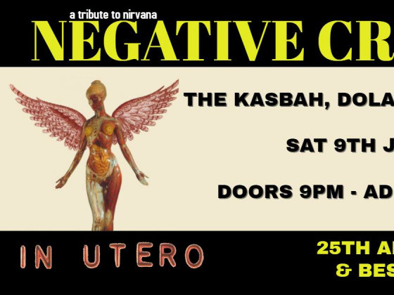Nirvana tribute - 'Negative Creeps' tickets - Dolans pub