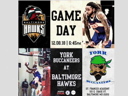 Baltimore Hawks vs York Bucaneers Event tickets - Baltimore Hawks
