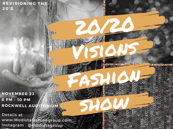 20/20 Visions Fashion Show Event tickets - Modista Fashion Group