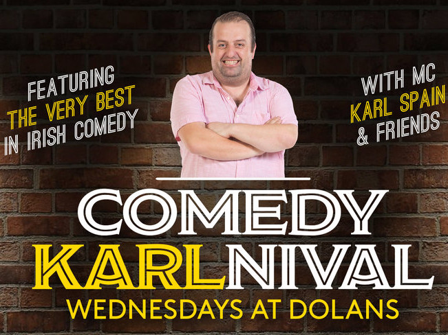 Comedy KARLnival Event tickets - Dolans pub