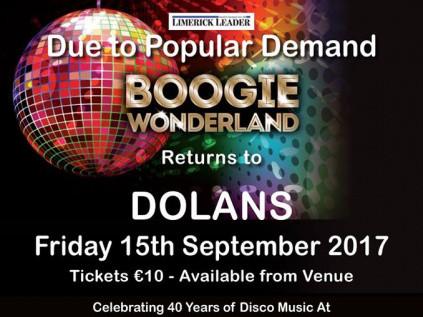 Boogie Wonderland Event tickets - Dolans pub