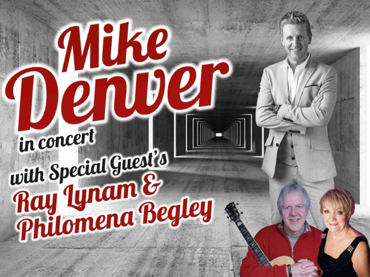 MIKE DENVER in concert (on sale now). Event tickets - Armagh City Hotel