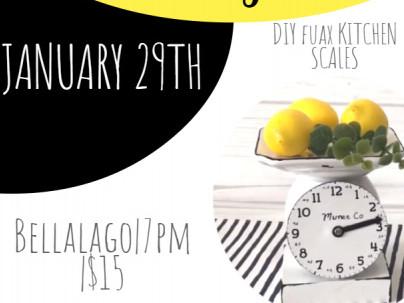 Ladies Craft Night tickets - Bellalago Club