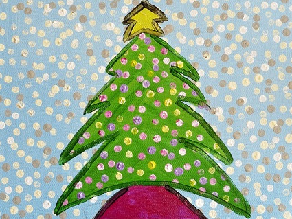 Kids' Paint Class - Christmas Edition tickets - Playhouse