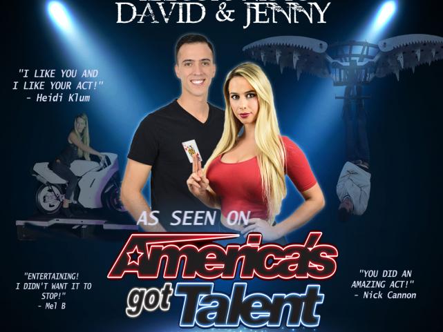 Calhoun, GA Illusion Show March 15 Event tickets - David & Jenny