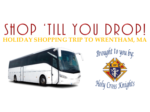 """""""Shop 'till you Drop"""" tickets - Holy Cross Knights of Columbus"""