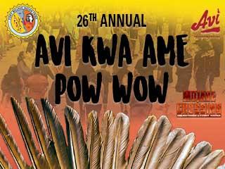 AVI KWA AME POW WOW