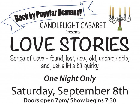 Encore: Candlelight Cabaret Love Stories Event tickets - Seneca Community Players