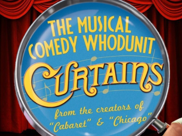 Curtains - The Musical Comedy Whodunit Event tickets - PCE Shows Ticketing