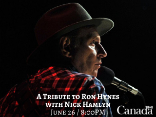 A Tribute to Ron Hynes