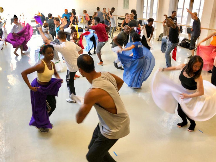 Rumba — Guaguancó dance workshop