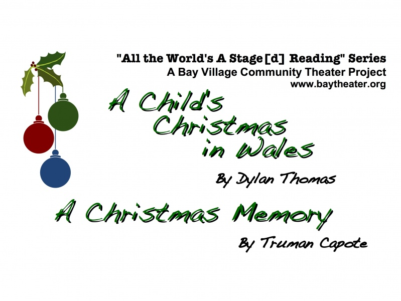Christmas Readings.Christmas Readings Tickets Bay Village Community Theater