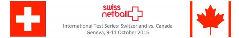 Swiss Netball Event tickets
