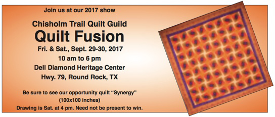 Chisholm Trail Quilt Guild Event tickets   Yapsody : chisholm trail quilt guild - Adamdwight.com
