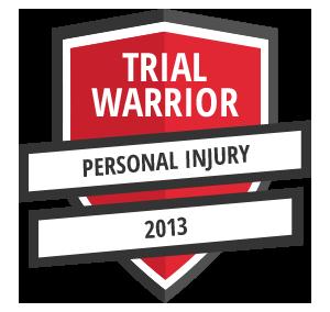 Adam Brum Trial Warrior 2013