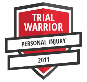 Gregory J. Bosseler Trial Warrior PI 2011