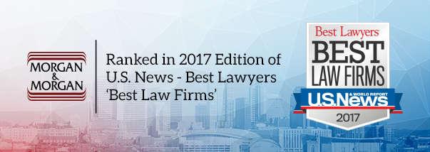 "Nashville Morgan & Morgan Office Earns Top Tier Rankings in 2017 ""Best Law Firms"" Hero Image"