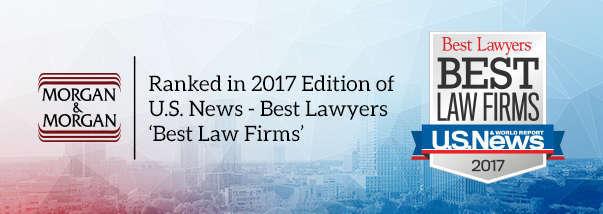 "Orlando Morgan & Morgan Office Earns Top Ranking in 2017 ""Best Law Firms"" Hero Image"