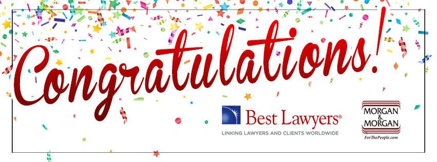 Nine Morgan & Morgan Attorneys Listed in Best Lawyers in America Hero Image