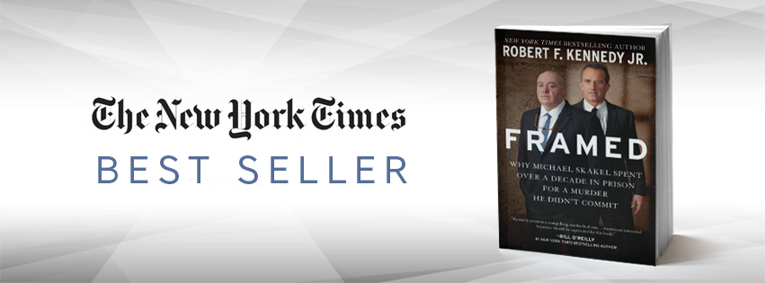 Framed by Robert F. Kennedy, Jr. Makes NY Times Best Seller List Hero Image