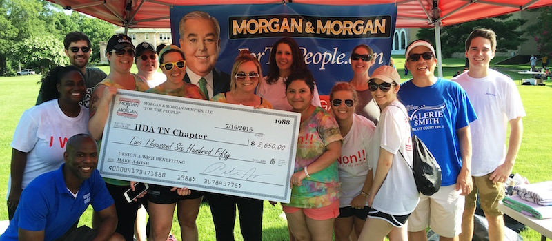 Morgan & Morgan Raises $2,650 for Design-A-Wish 5K, Marking 5 Years of Support Hero Image
