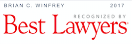Best Lawyers Brian WInfrey 2017