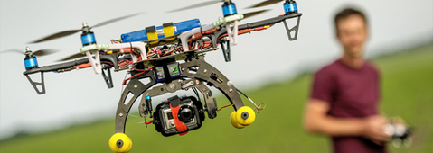Drones: A Silent Aerial Threat Is On the Horizon Hero Image
