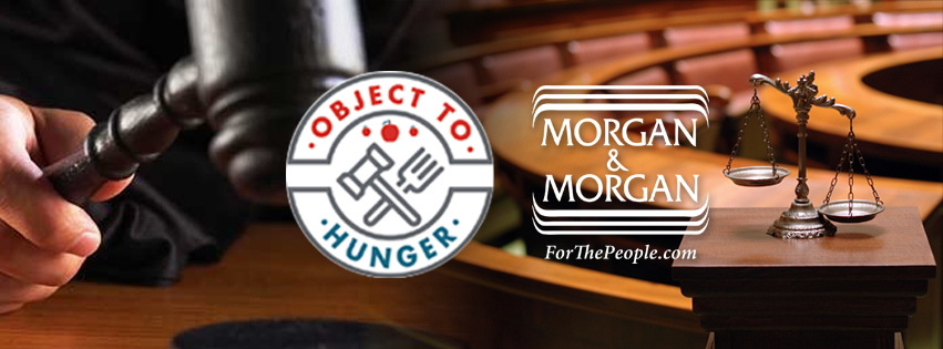 Morgan & Morgan Collects 70K Pounds of Food for Object to Hunger Campaign Hero Image