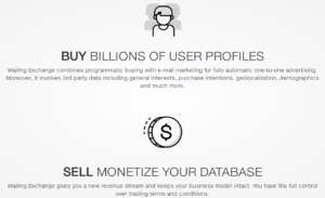 "OnAudience marketing material that advertises ""billions of user profiles""."