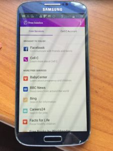 Free Basics in South Africa