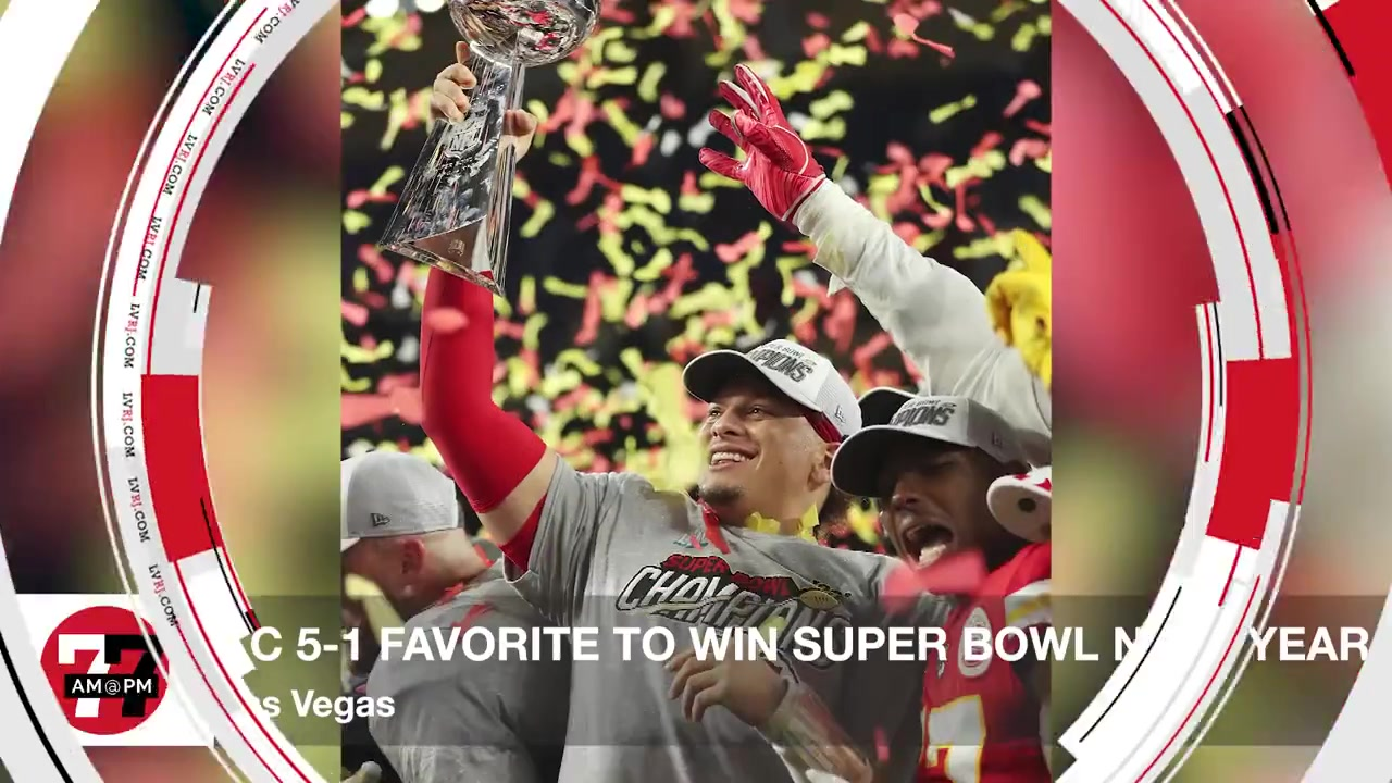 7@7PM KC 5-1 Favorite to Win Super Bowl Next Year
