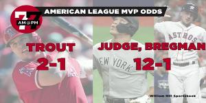 7@7AM American League MVP Odds