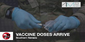 7@7AM Vaccine Doses Arrive