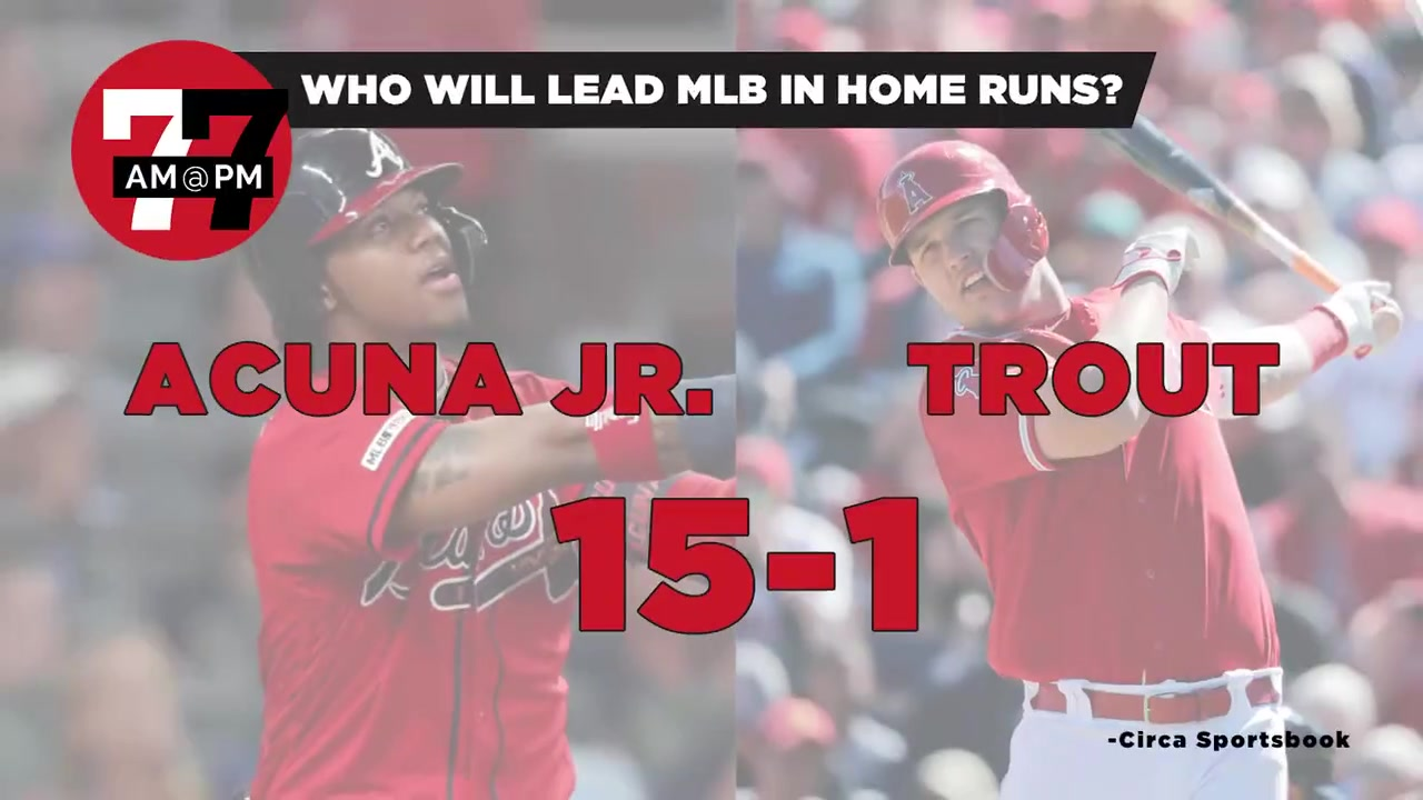 7@7PM MLB Home Run Leader