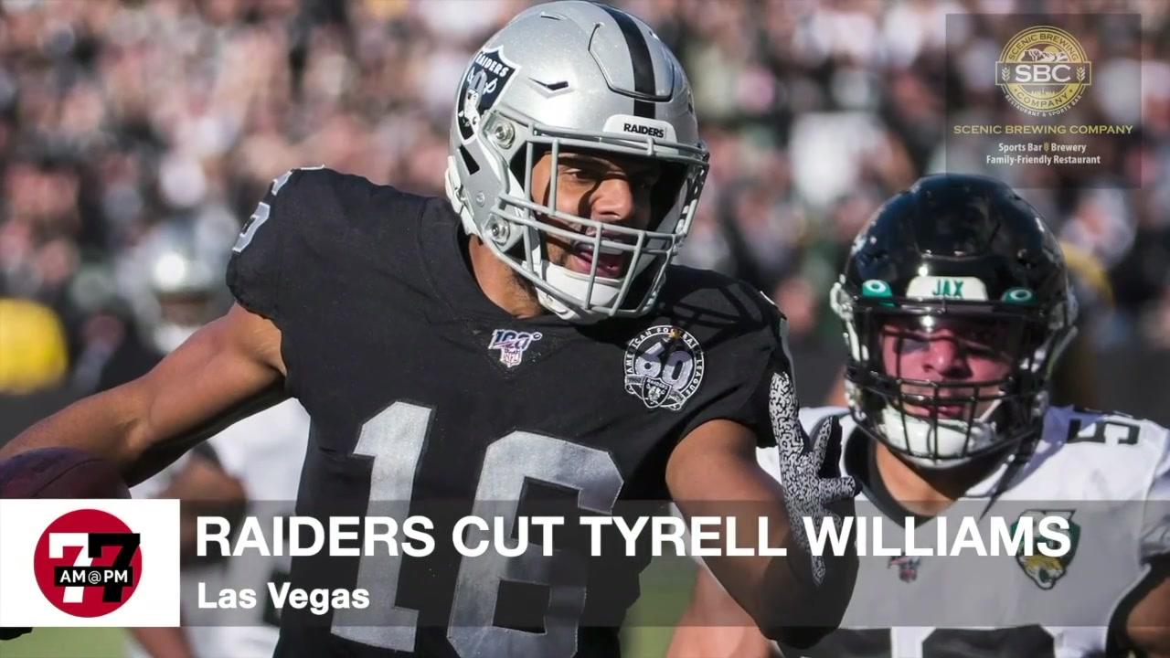 7@7AM Raiders Cut Tyrell Williams
