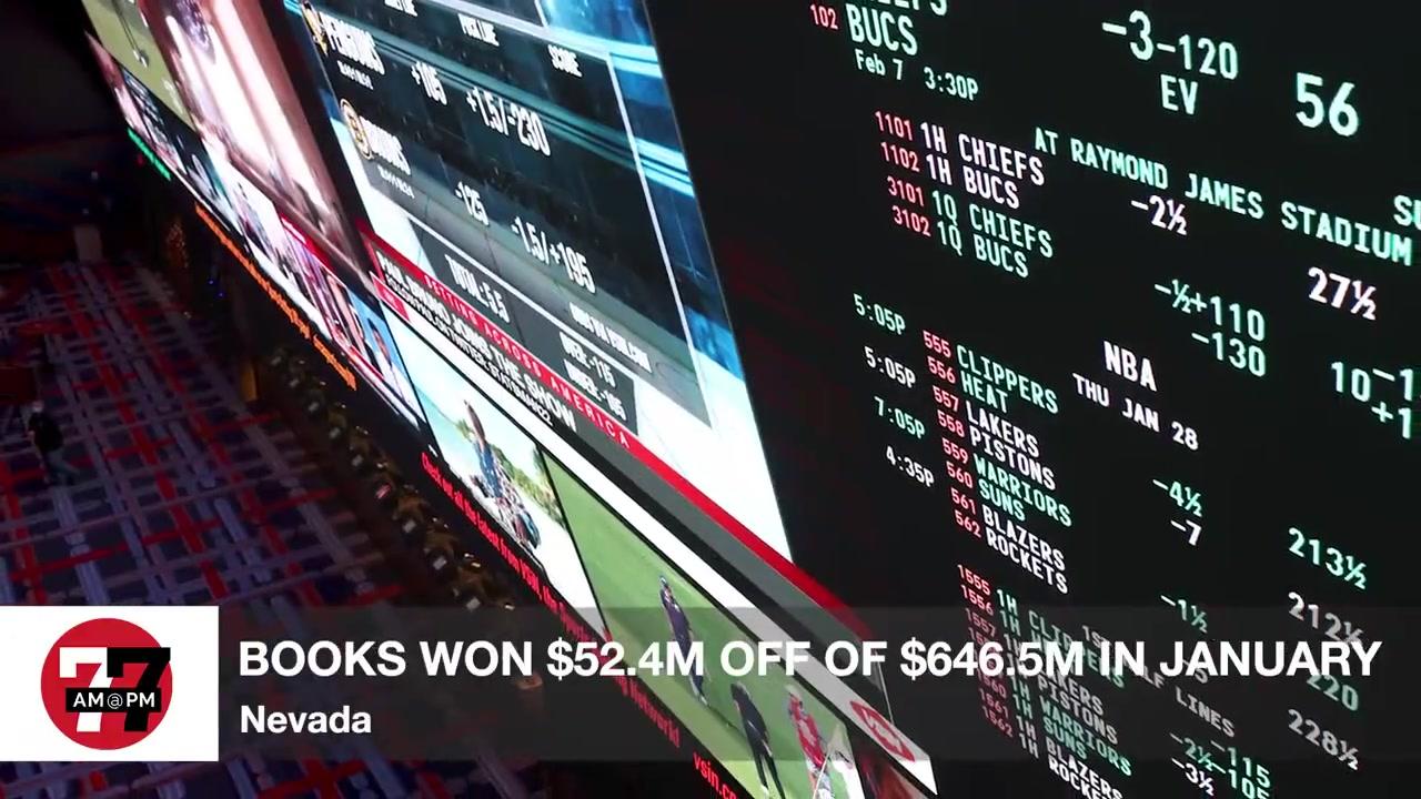 7@7PM Nevada Books win $52.4M